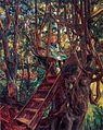 Wilhelm Trübner Mädchen im Baum.jpg