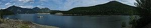 Williston Lake - Barge on Williston Lake