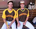 Will Myers and his pitcher - brother Beau - are ready to go in the 2016 T-Mobile -HRDerby. (28542809691).jpg