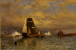 William Bradford: Looking out of Battle Harbour