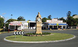 William Butler Memorial Clock, Main Street, Kilcoy, Somerset, Queensland.JPG