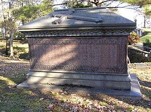 William B. Ogden - The sarcophagus of William Butler Ogden in Woodlawn Cemetery