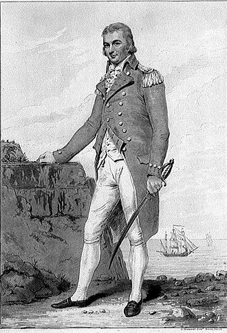 William Carnegie, 7th Earl of Northesk - William Carnegie as a Post Captain  of 3 year seniority