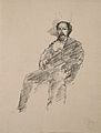 William MacNeill Whistler. Reproduction of charcoal drawing Wellcome V0006269.jpg