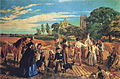 William Maw Egley - Hullo, Largess, A Harvest Scene in Norfolk.JPG