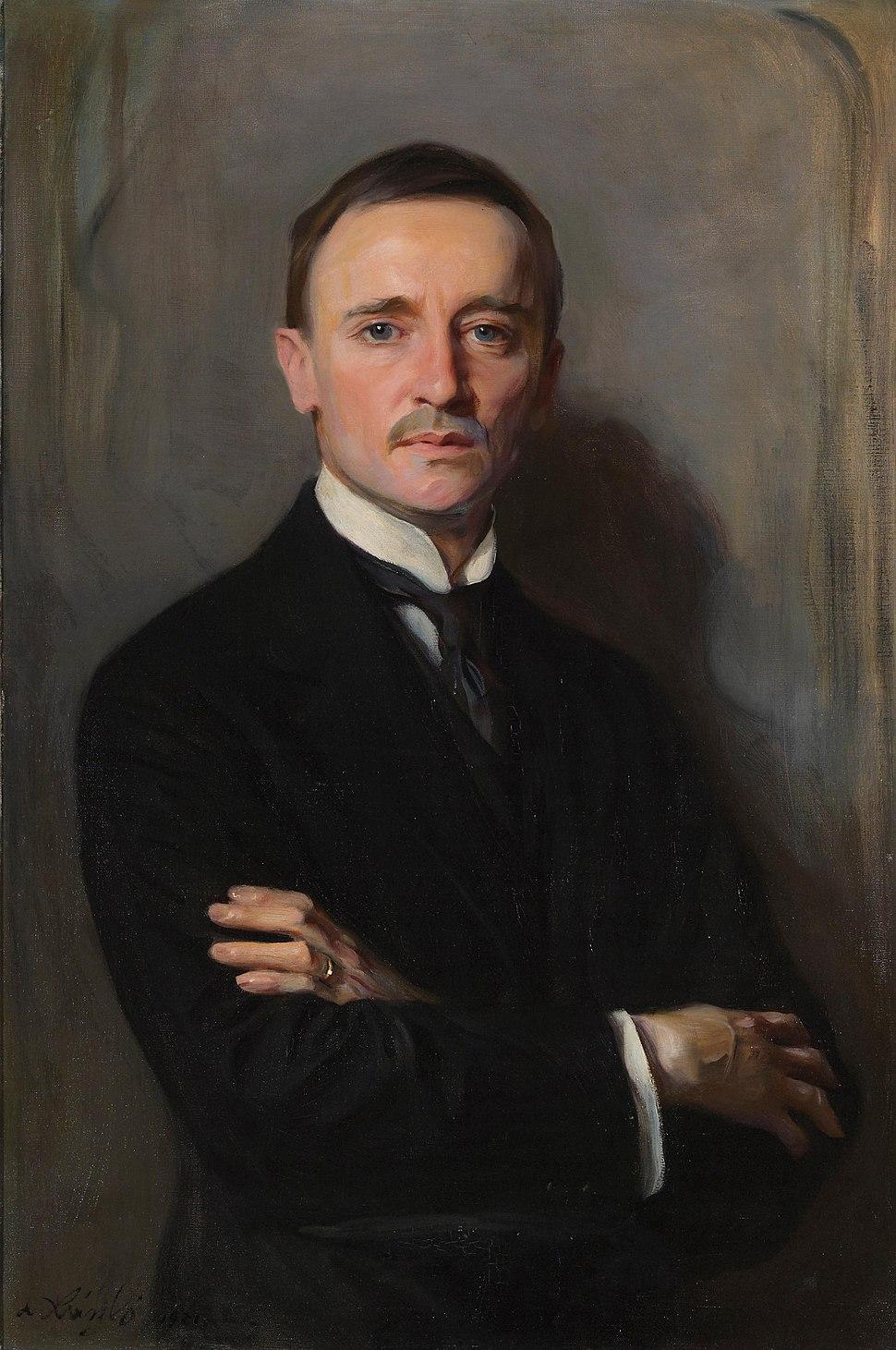 William Richards Castle Jr (1878-1963), by Philip de László (1869-1937)