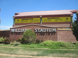 Garden City Community College - Williams Broncbuster Baseball Stadium at Garden City Community College