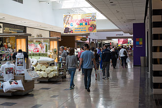 Wayne, New Jersey - Interior of Willowbrook Mall