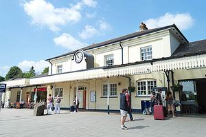 Winchester railway station - Winchester railway station