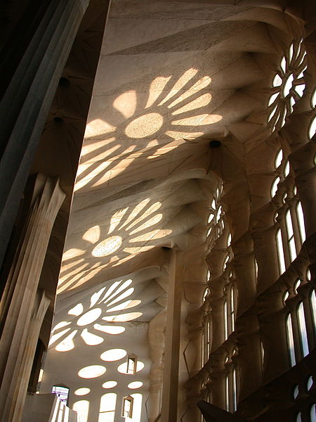 File:Window Shadows on Ceiling of Sagrada Família 2010.JPG