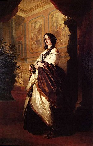 Harriet Sutherland-Leveson-Gower, Duchess of Sutherland - Harriet Sutherland-Leveson-Gower, Duchess of Sutherland by Franz Xaver Winterhalter, 1849