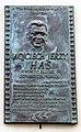 Wojciech Jerzy Has (Polish film director, screenwriter and film producer) commemorative plaque, 19 sw. Gertrudy street, Stradom, Krakow, Poland.jpg