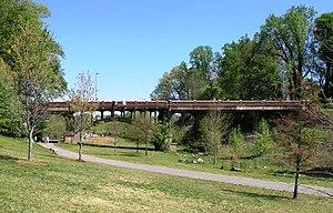 James G. Woodward - Image: Woodward Bridge in Piedmont Park
