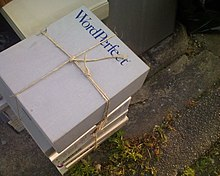 WordPerfect product box being discarded.jpg