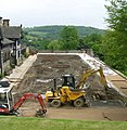 Work in progress - refurbishment of Terraces at Shibden Hall - geograph.org.uk - 825613.jpg