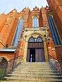 Wrocław, kolegiata Świętego Krzyża i św. Bartłomieja, wejście do górnego kościoła.jpg
