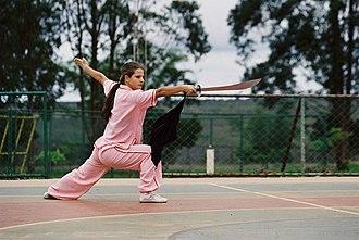 Wushu (sport) - A dao