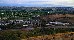 Yakima, Washington - 40th Ave looking south from Lookout Point.jpg