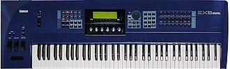 Yamaha EX5 - Image: Yamaha EX5 top