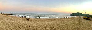 Yarada Beach - Yarada Beach Panoramic View