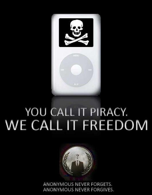 You call it piracy