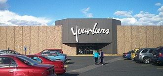 Younkers - A Younkers in Marquette, Michigan which was converted from H.C. Prange