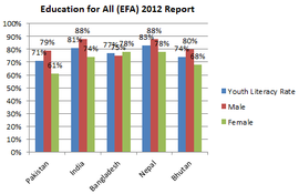 indicators india adult literacy rate