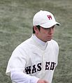 Yuki Saitō, pitcher of the Waseda Baseball Club, at Meiji Jingu Stadium.JPG