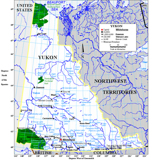 Geography of Yukon