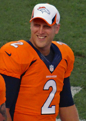 Zac Dysert - Dysert with the Denver Broncos