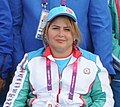 Zinyat Veliyeva at the 2012 Summer Paralympics.JPG