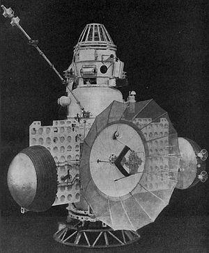 Zond 2 - The Soviet Zond 2.