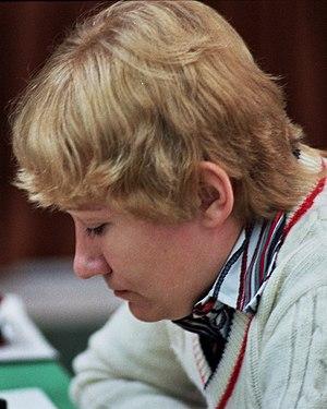 Zsuzsa Verőci - Verőci in 1982 in Dortmund