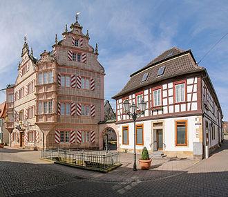 Bad Bergzabern - Bad Bergzabern: Gasthaus Zum Engel (1579) )