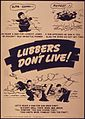 """""""Lubbers don't live - Oh heave a sigh for gun crew eight Oh heave a sigh for lookout Jones"""" - NARA - 514931.jpg"""