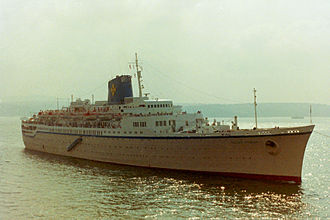 Ateliers et Chantiers de France - Former SS Flandre (launched 1951) in service as Pallas Athena