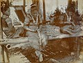 """Woman bead workers of the Moro Bagabo tribe."" Philippine Reservation, Department of Anthropology, 1904 World's Fair.jpg"