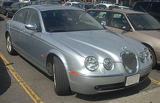 Jaguar S-Type - Image: '06 '08 Jaguar S Type