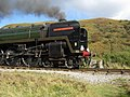 'Oliver Cromwell' in Newtondale - close up - geograph.org.uk - 1525188.jpg