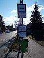 'XVII. utca' bus stop, 2019 Rákosliget.jpg