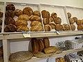 (artisan bread) at Harina Panadería in Madrid, Spain.JPG