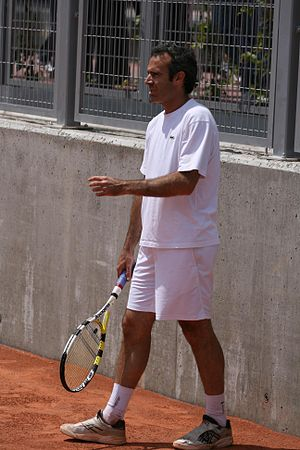 Àlex Corretja at the 2009 Mutua Madrileña Madrid Open 02.jpg
