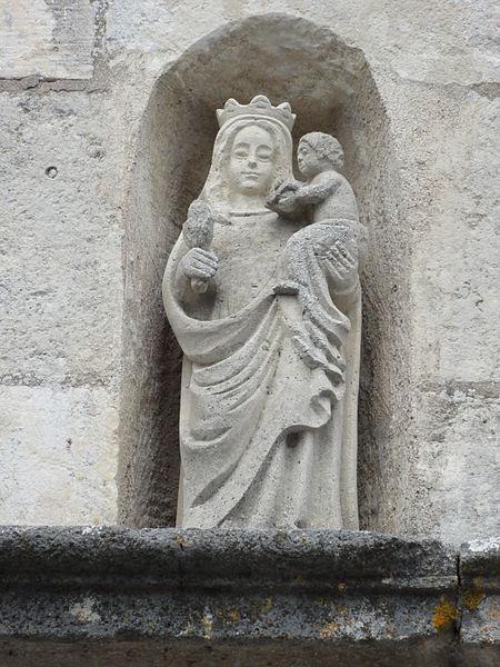Écrouves (Meurthe-et-M.) Église Notre-Dame-de-la-Nativité-et-de-la-Vierge