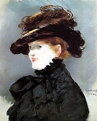 Édouard Manet: Méry Laurent au chapeau noir