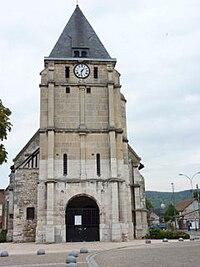 Église Saint-Étienne de Saint-Étienne-du-Rouvray - Vue de l'Ouest.jpg