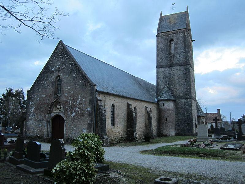 Église Saint-Martin de Montaigu-la-Brisette, XIIIe