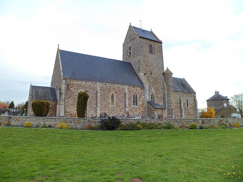 Église Saint-Pierre du Hommet-d'Arthenay