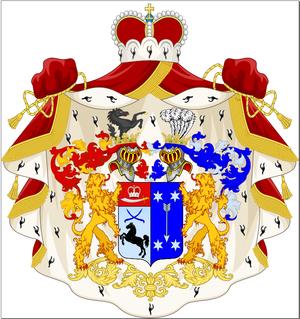 Abashidze - Abashidze-Gorlenko family coat of arms.