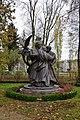 Батурин -«Сини мої, соколи». Скульптурна група-1.jpg