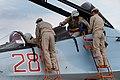 Будни авиагруппы ВКС РФ на аэродроме Хмеймим в Сирии (35).jpg